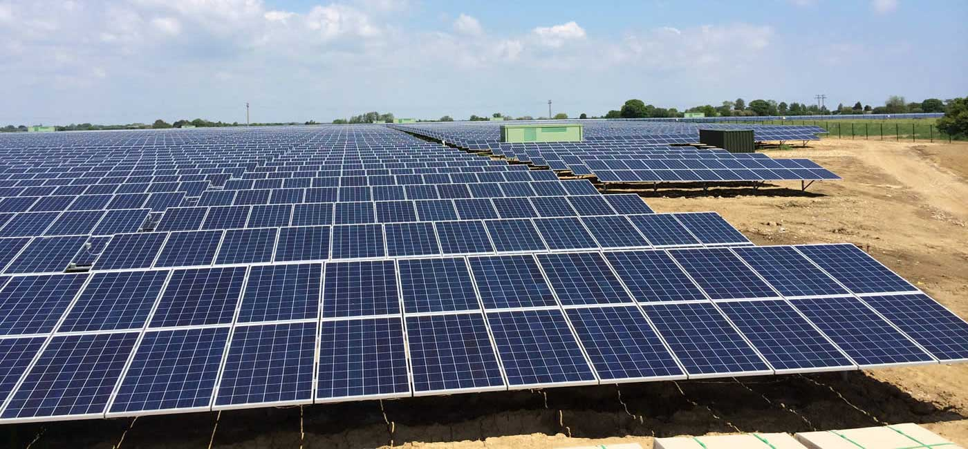 Solar Farm - Create and Maintain Services available from Twig Group