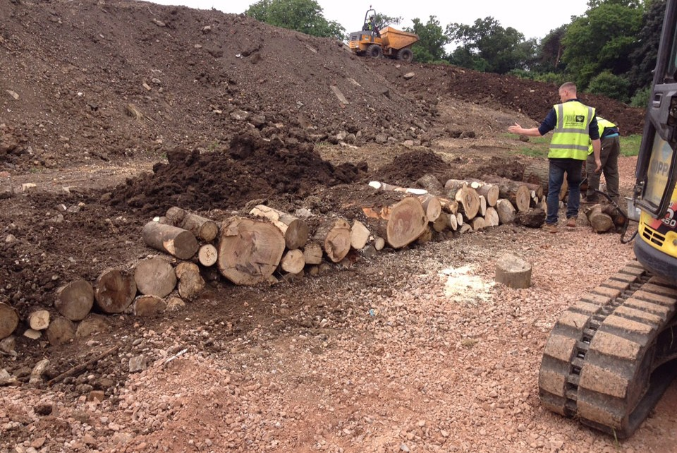 Country Park Construction works at Stanmore Country Park by Twig Group