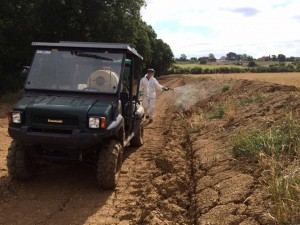 Weed management - Solar Farm Land Reinstatement for Lightsource