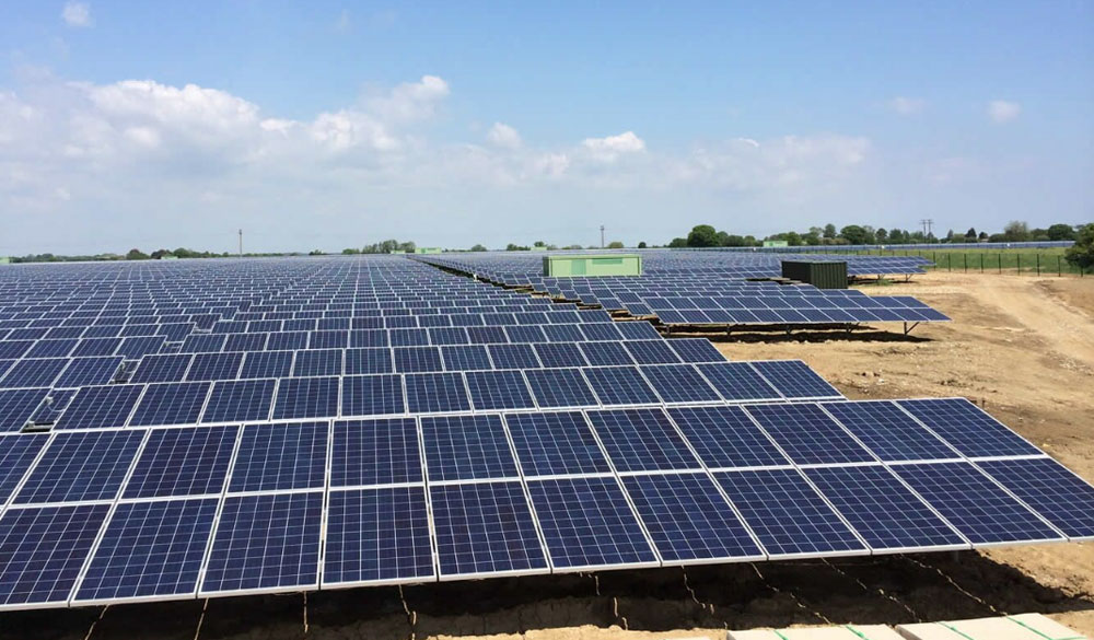 Eco-friendly grounds maintenance for the solar industry